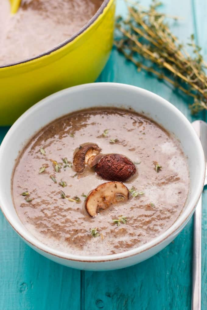 Milestones' Roasted Mushroom Soup #copycat