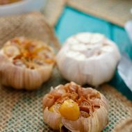 Roasted Garlic (Bulk Recipe)