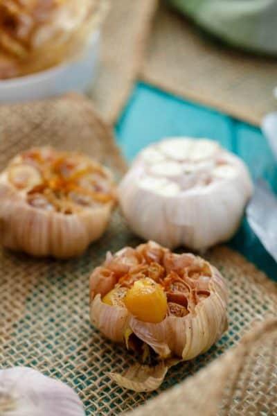 Roasted Garlic (Bulk Recipe)