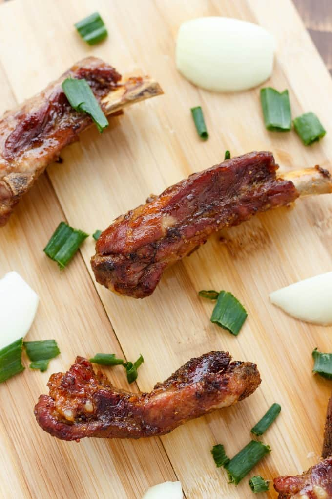 Dry Garlic Ribs Canadian Chinese Style #garlic