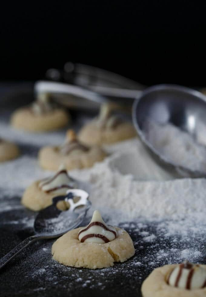 Hershey's Kisses Shortbread Cookies