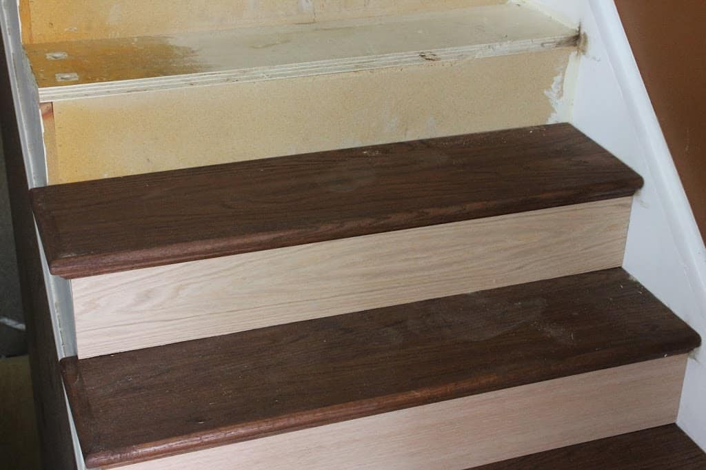 Stairway Remodel Part 3 Installing New Stair Treads And
