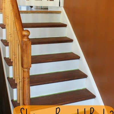 Stairway Remodel Part 3: Installing New Stair Treads and Risers