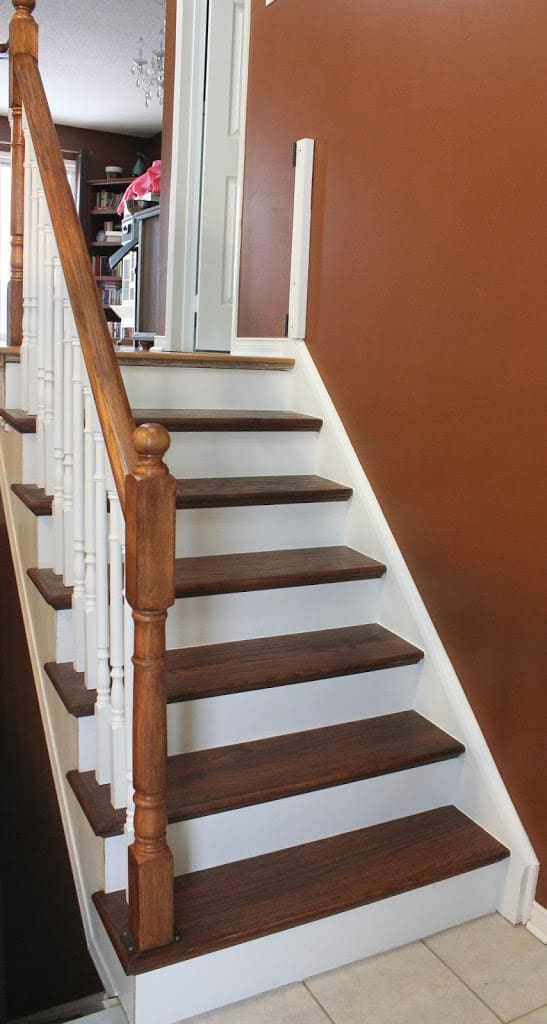 Stairway Remodel Part 4 Painting Spindles Risers And