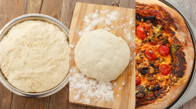 Homemade Pizza Dough #stepbystep
