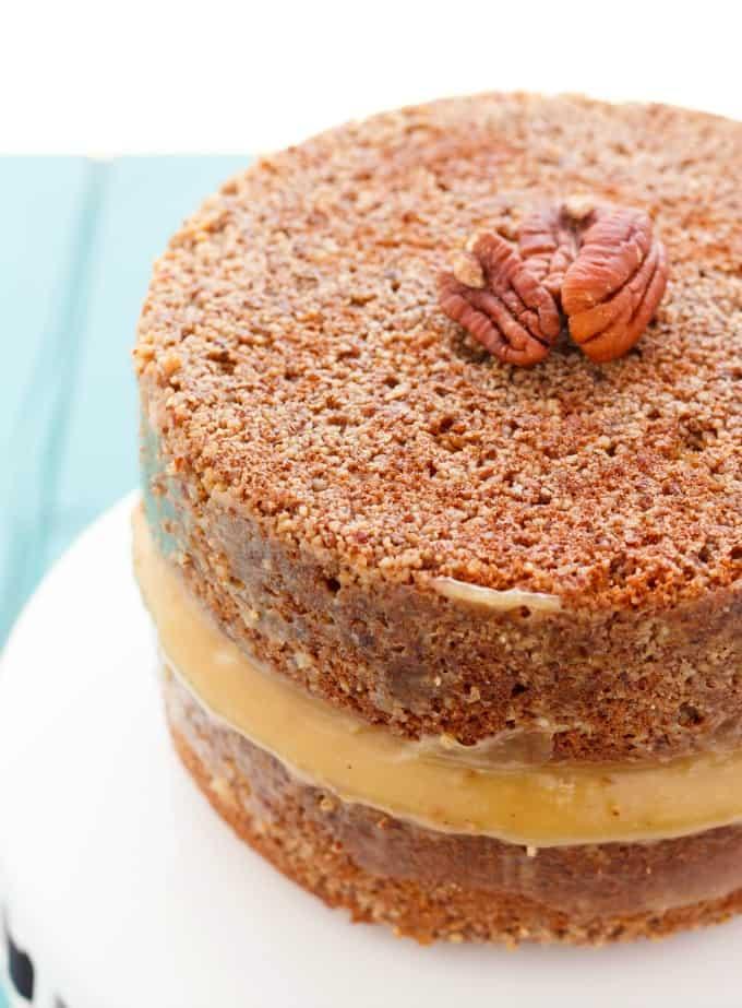 Pecan Pie Cake! #pecans