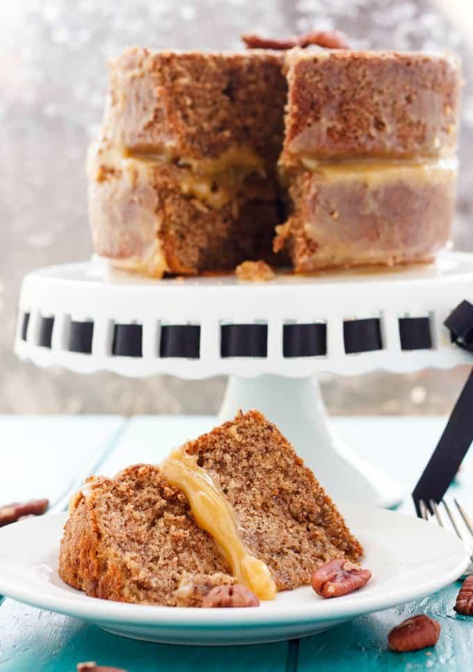 Pecan Pie Cake!