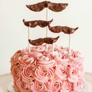 Chocolate Cake with Raspberry Swiss Meringue Buttercream