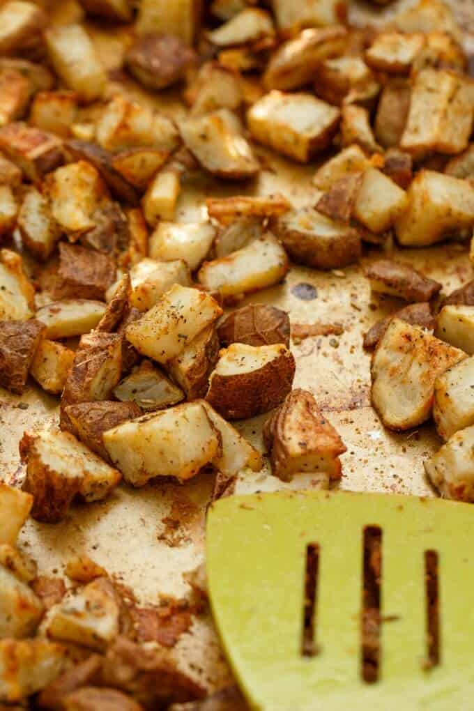 Easy and Basic Roasted Potatoes