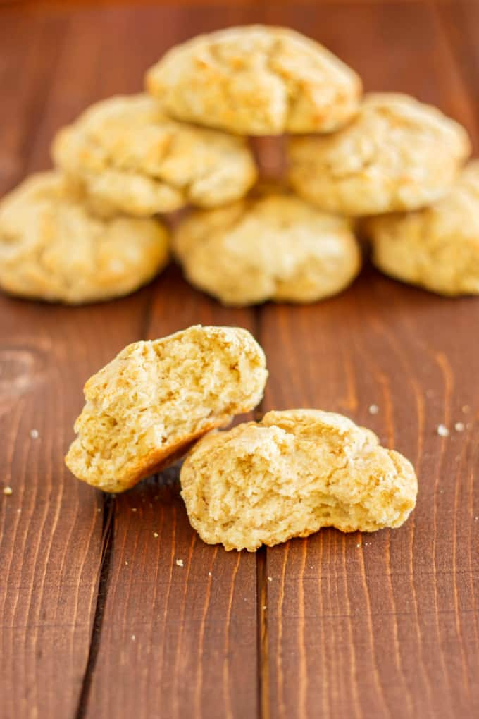 Gluten-Free Biscuits with Robin Hood Flour