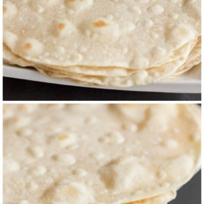 Homemade Flour Tortillas Tutorial