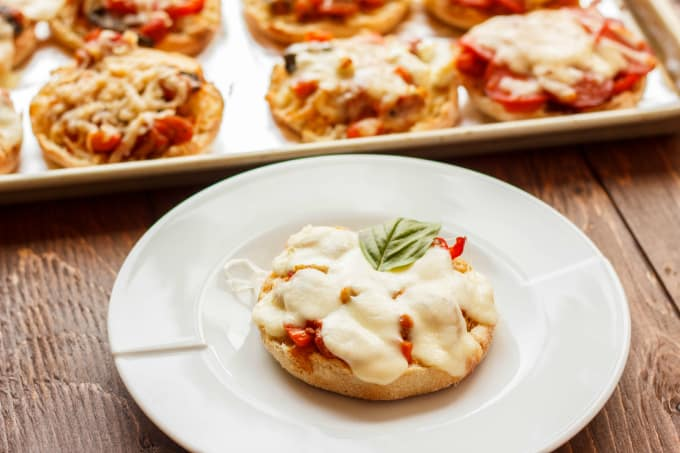 Mini Pizzas on English Muffins 4