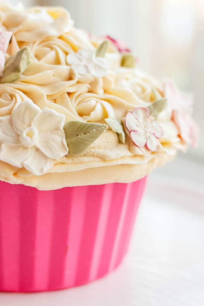 Giant Chocolate Cupcake 3