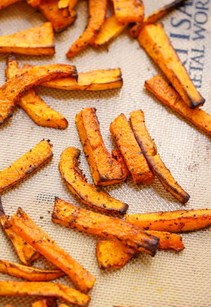 Butternut Squash Fries #vegan