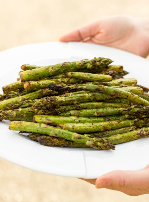 Grilled Balsamic Asparagus 1