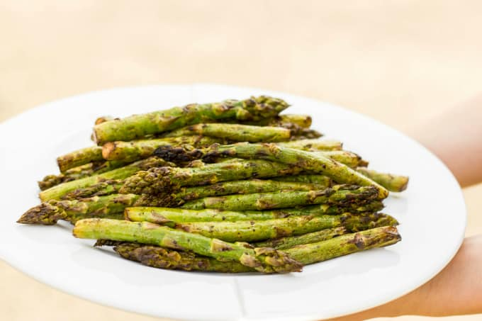 Grilled Balsamic Asparagus 2