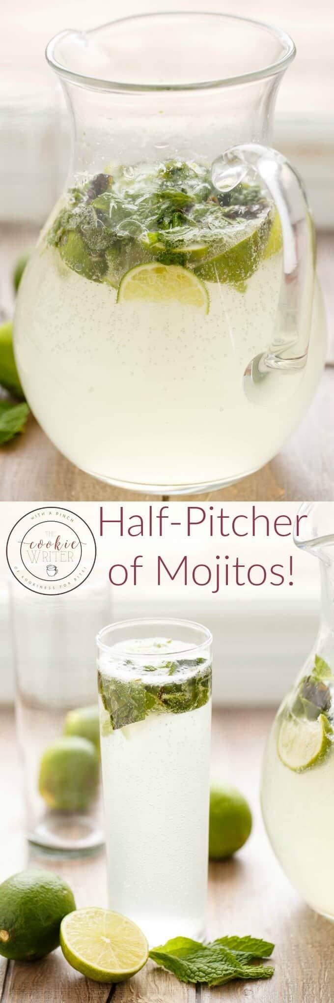 Half Pitcher of Mojitos
