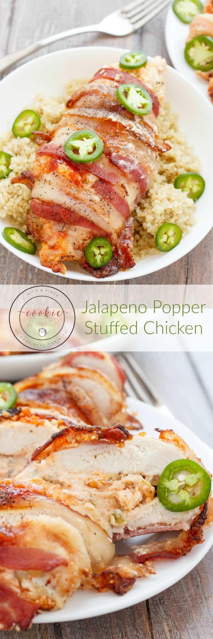 Jalapeno Popper Stuffed Chicken