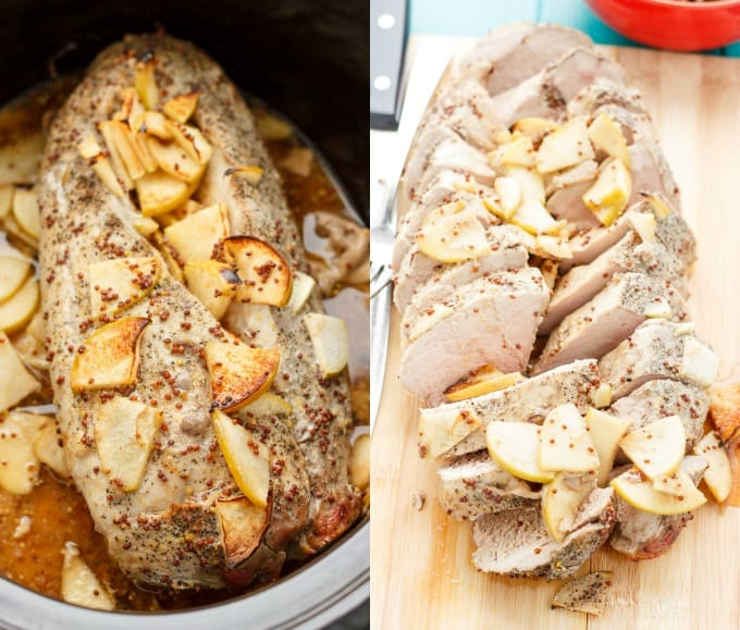 Pork Tenderloin in the Slow Cooker #glutenfree
