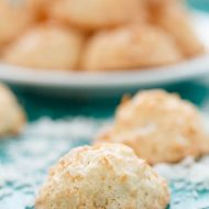 Semi Toasted Coconut Macaroons