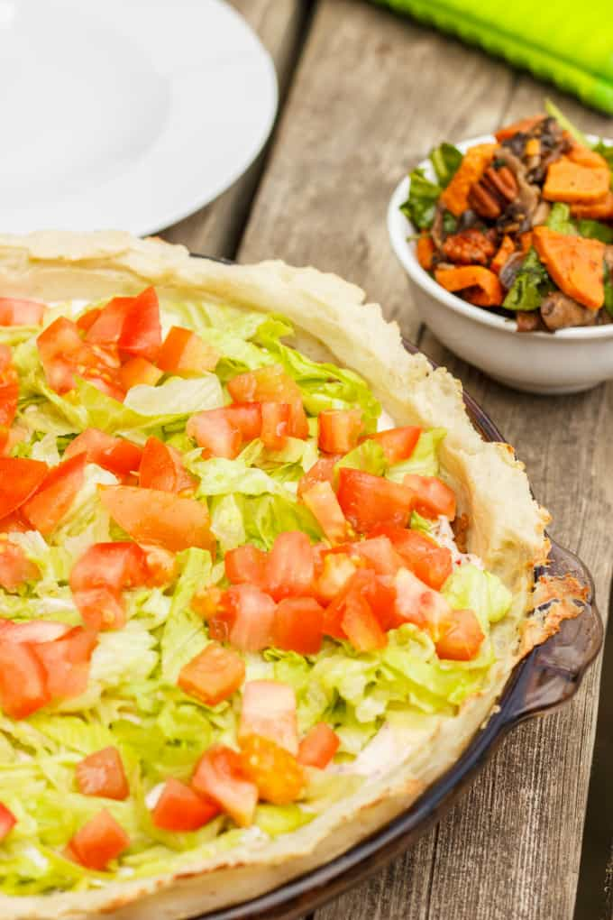 Gluten-Free and Vegan Taco Pie 3