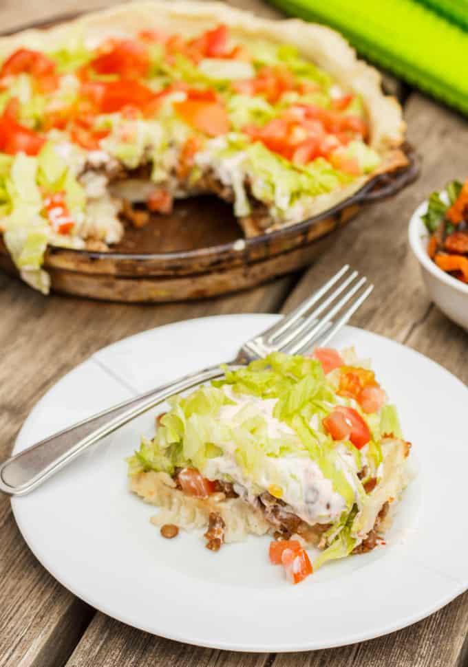 Gluten-Free and Vegan Taco Pie 4