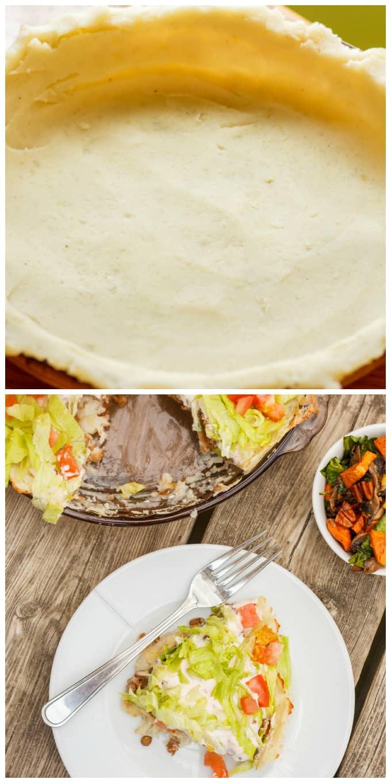 Gluten-Free and Vegan Taco Pie