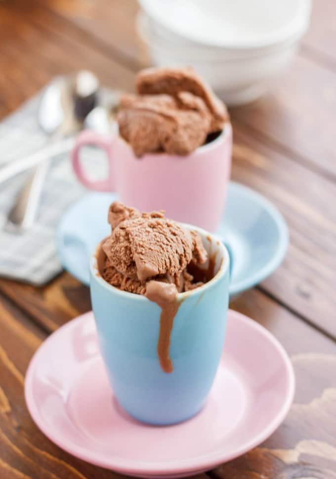 Homemade Chocolate Ice Cream 2