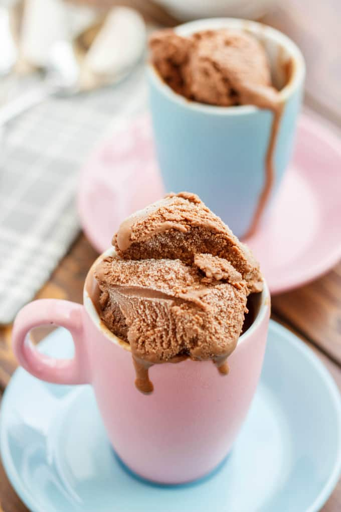 Homemade Chocolate Ice Cream 4
