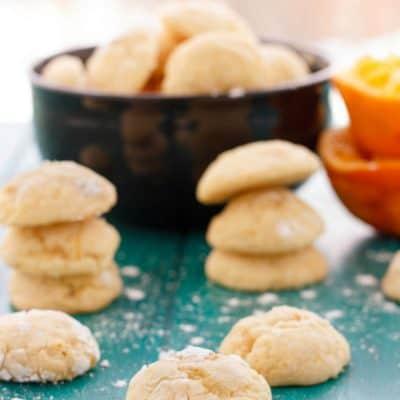 Orange Cookie Crinkles