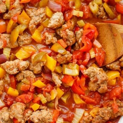Sausage and Peppers over Rice: Revisited