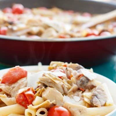 Artichoke Hearts and Caper Pasta Sauce