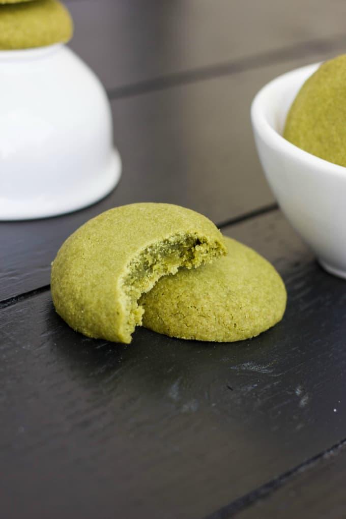 Matcha Green Tea Shortbread Cookies 4