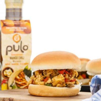 Pulo Mango Chili Vegan Sloppy Joes