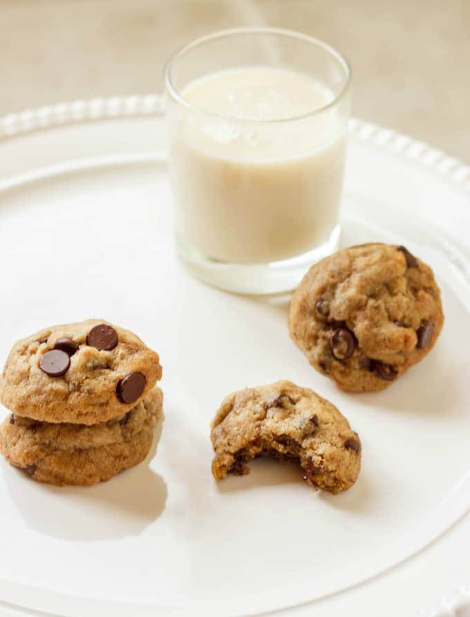 Vegan Chocolate Chip Cookies 2