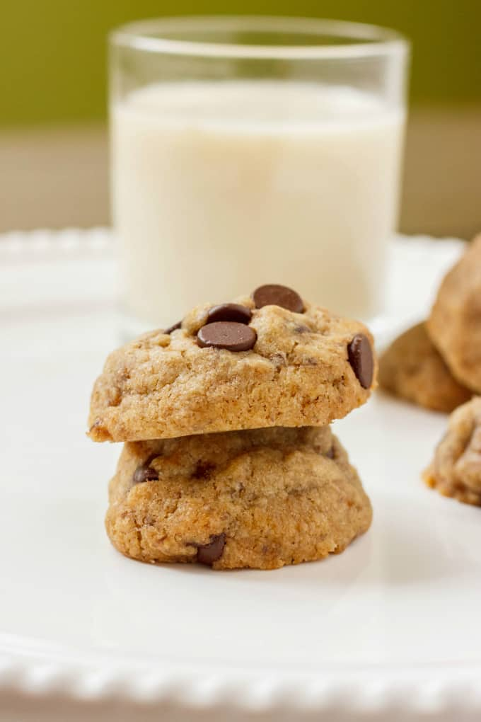 Vegan Chocolate Chip Cookies 4