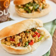 Vegan Sloppy Joes using Pulo Mango Chili