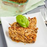 Vegetarian Meat Loaf made with Lentils