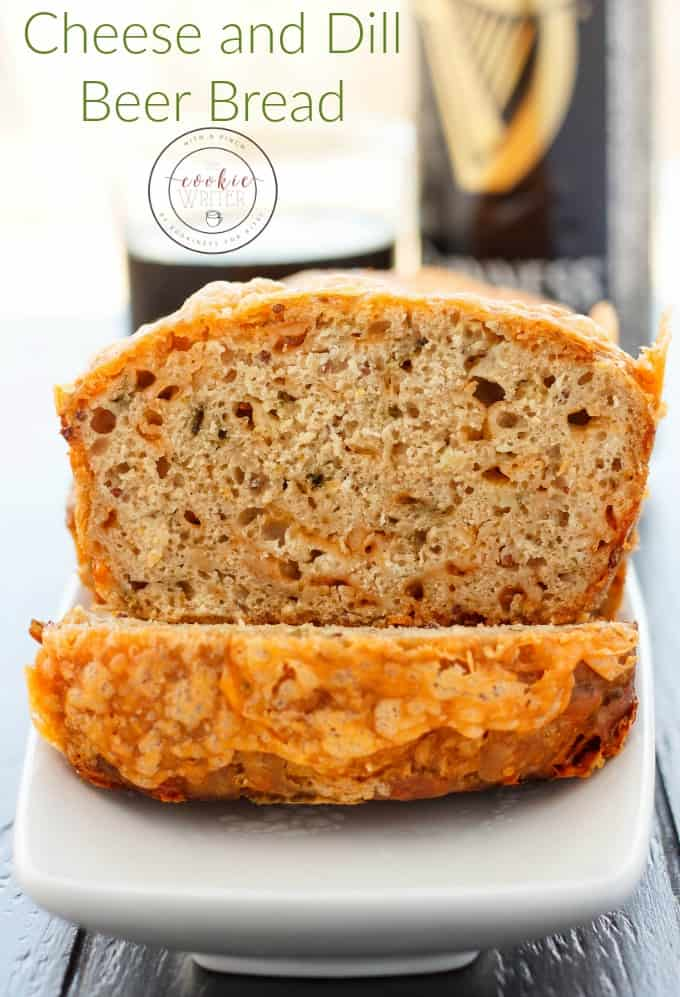 Cheese and Dill Beer Bread #bread