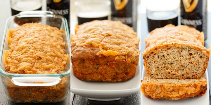 Cheese and Dill Beer Bread #sidebyside