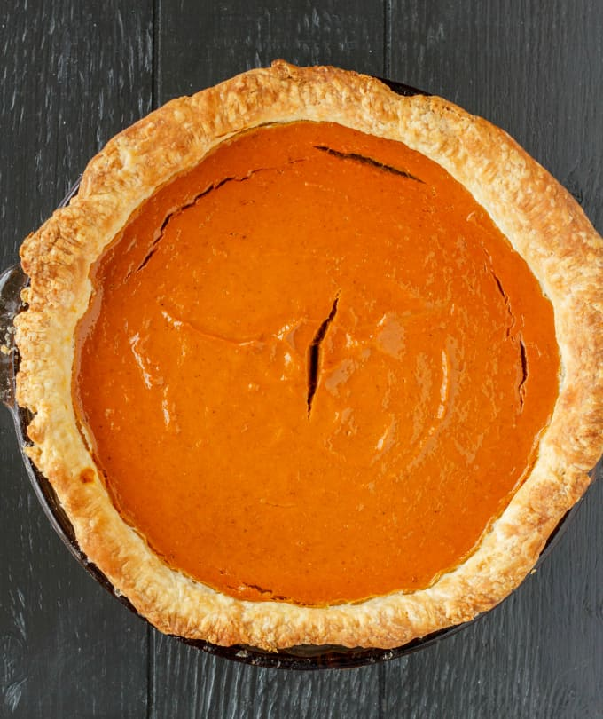 Homemade Pumpkin Pie Recipe 2