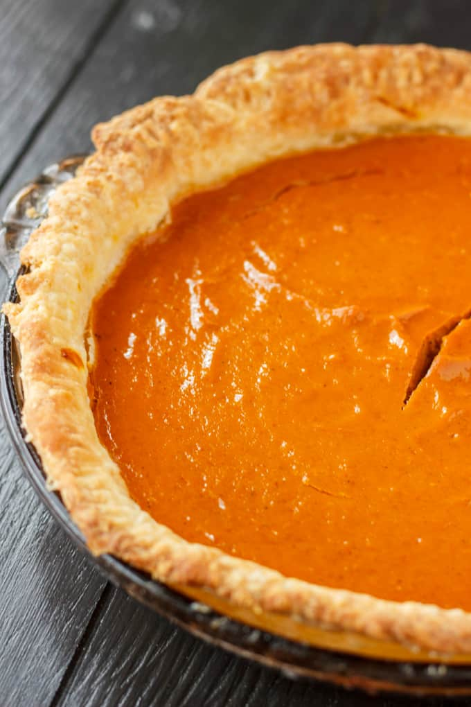 Homemade Pumpkin Pie Recipe 3