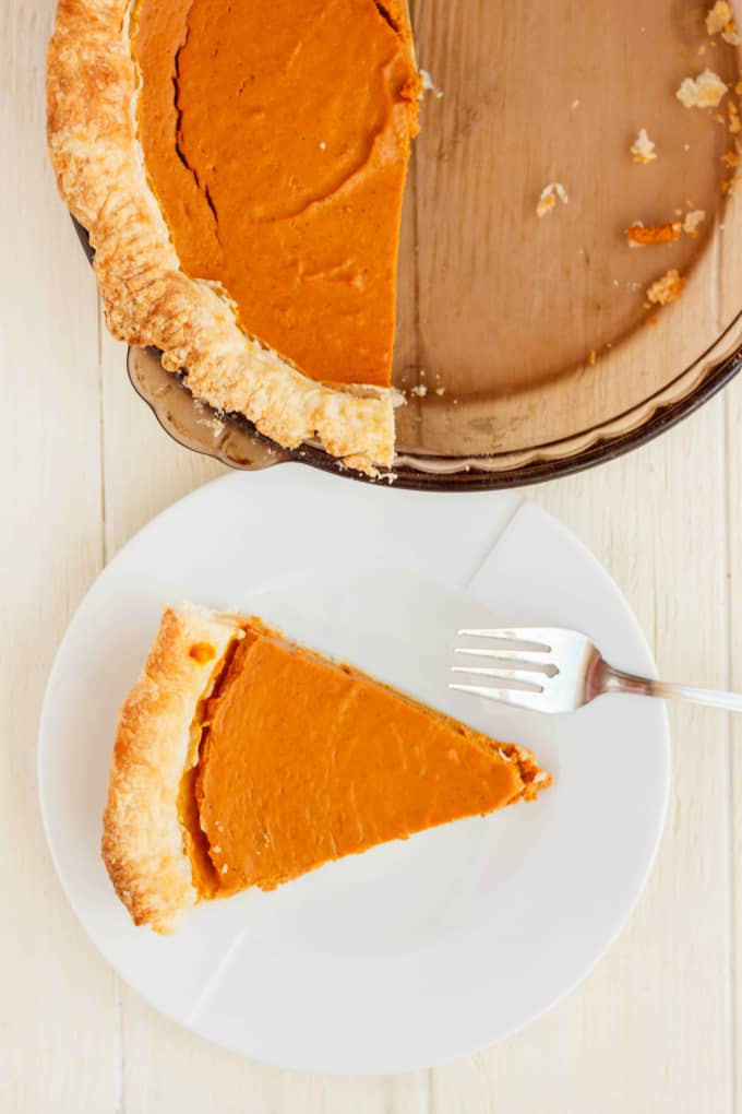 Homemade Pumpkin Pie Recipe 8