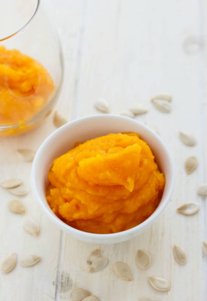 Homemade Pumpkin Puree #glutenfree