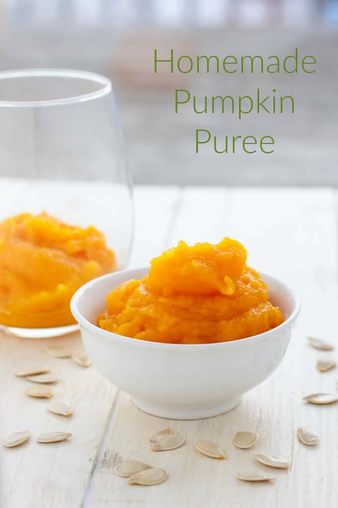 Homemade Pumpkin Puree #pumpkin