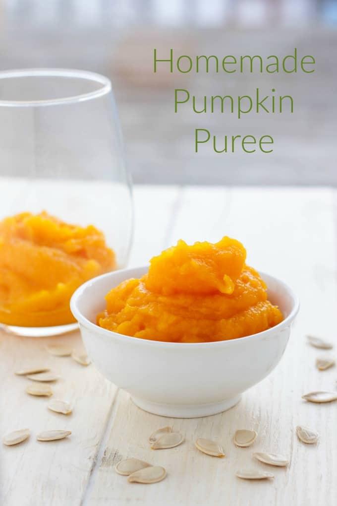 Homemade Pumpkin Puree #pumpkin