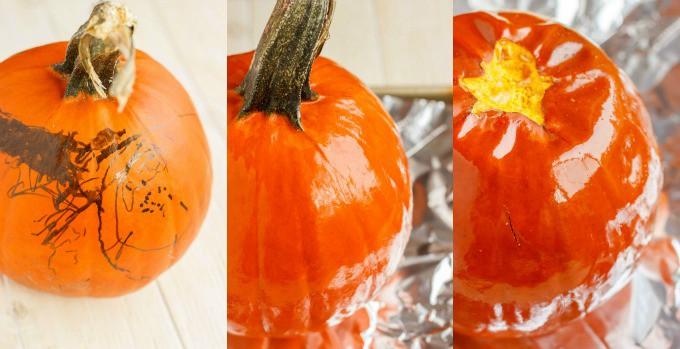 Homemade Pumpkin Puree #roasting