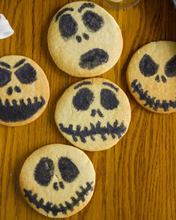 Jack Skellington Royal Icing Cookies 1