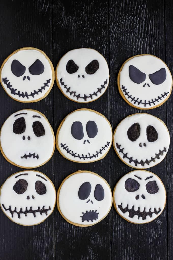 Jack Skellington Royal Icing Cookies 2