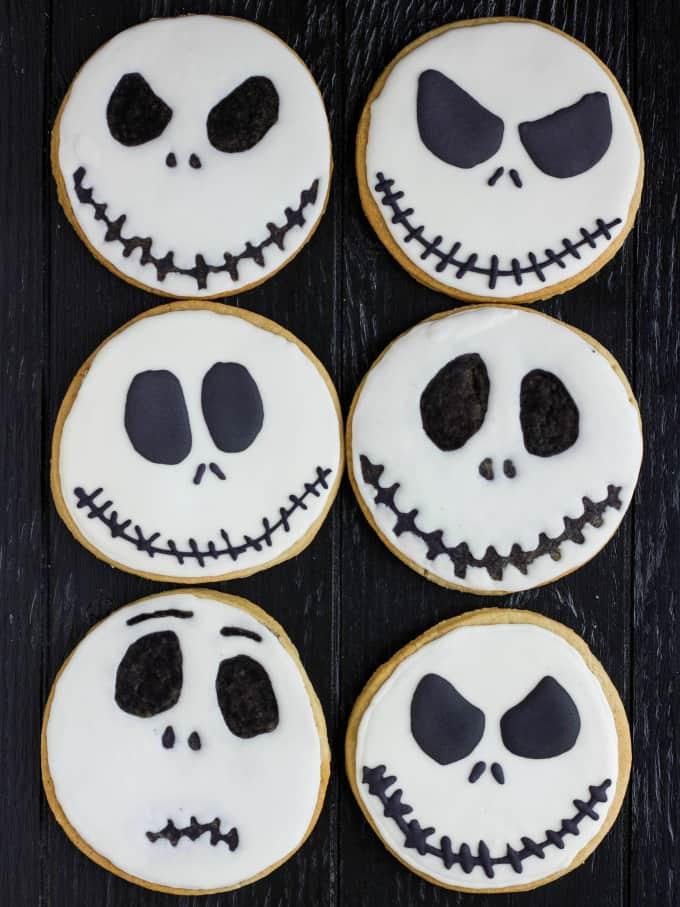 Jack Skellington Royal Icing Cookies 3
